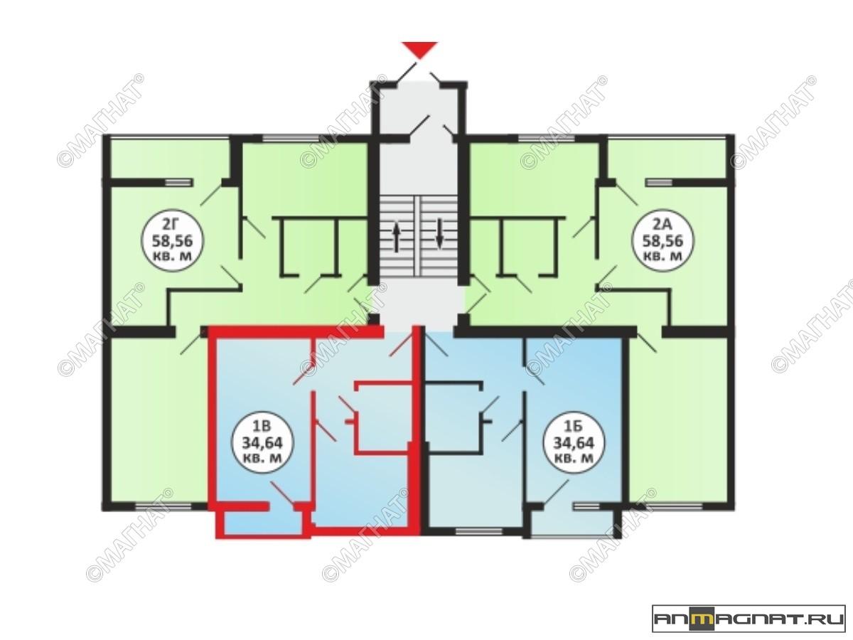 для квартиры в южном городе самара цены и планировка Лавров